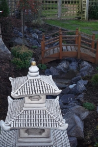 Japanese Garden (complete with running stream)